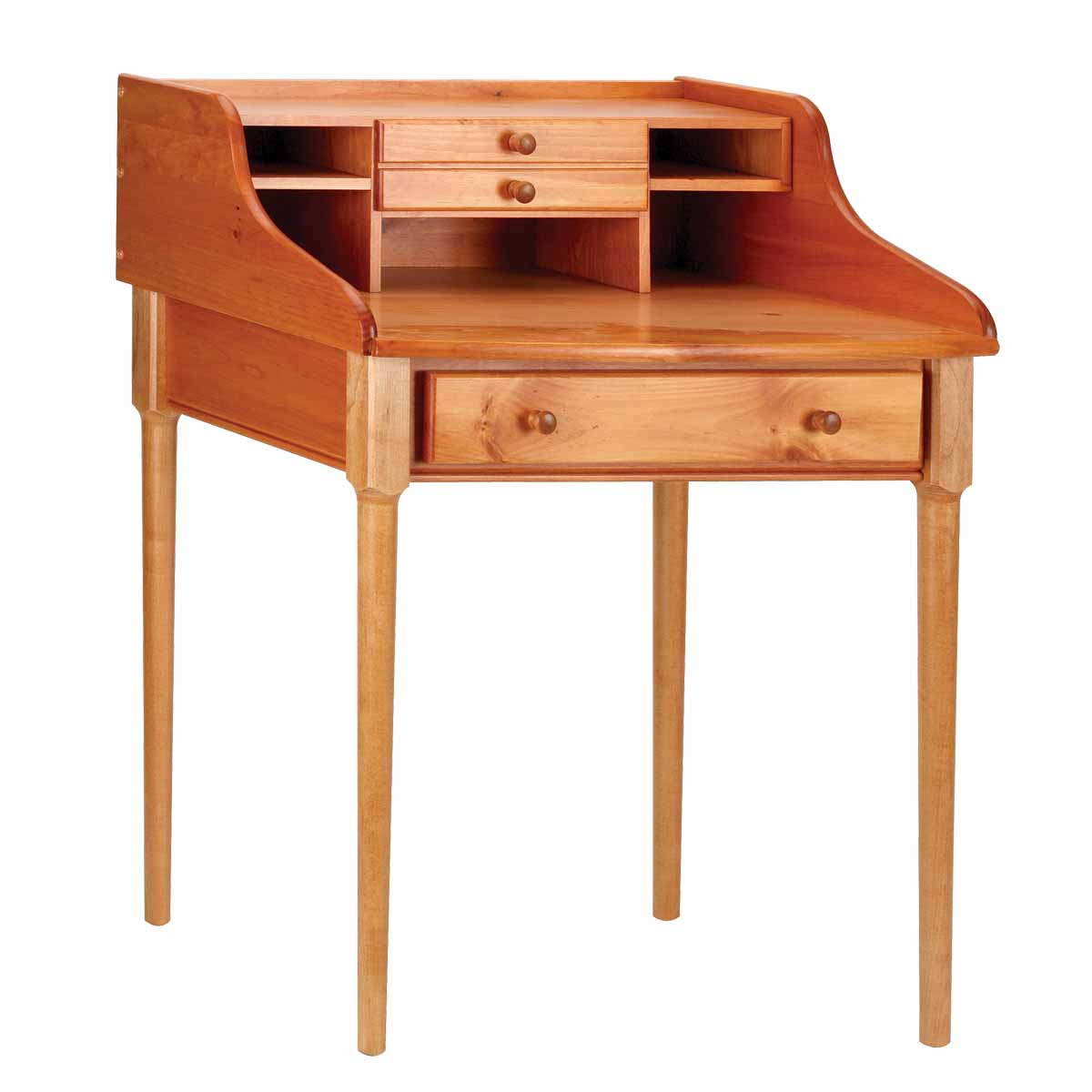 office desk heirloom solid pine bradford desk 30 w