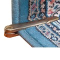 Swivel Carpet Holders Antique Brass