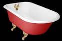 Medium Roll Top Baths Clawfoot Tubs