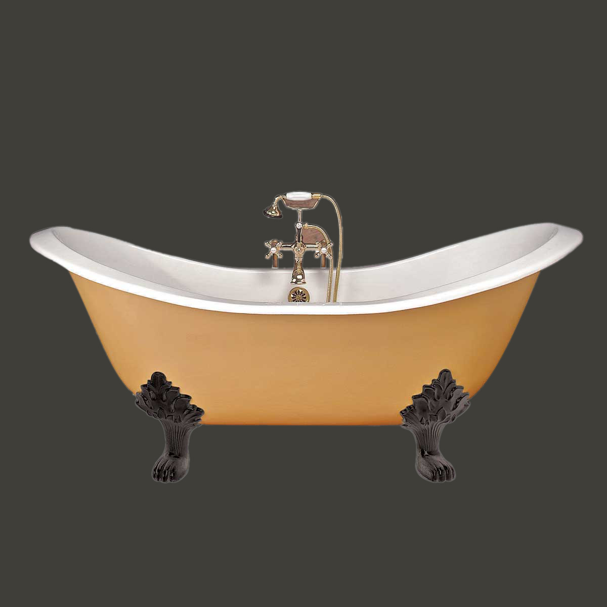 Stunning  name clawfoot tubs white iron clawfoot tub double slipper black feet 1200 x 1200 · 80 kB · jpeg