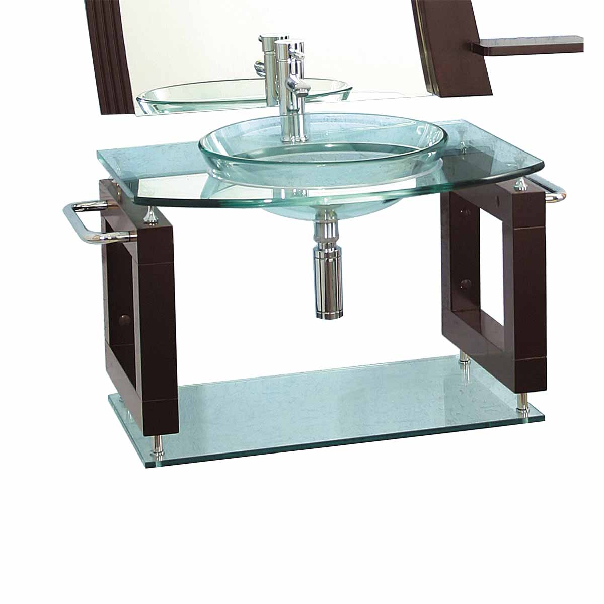 Glass Wall Mount Sink : Choose a Color