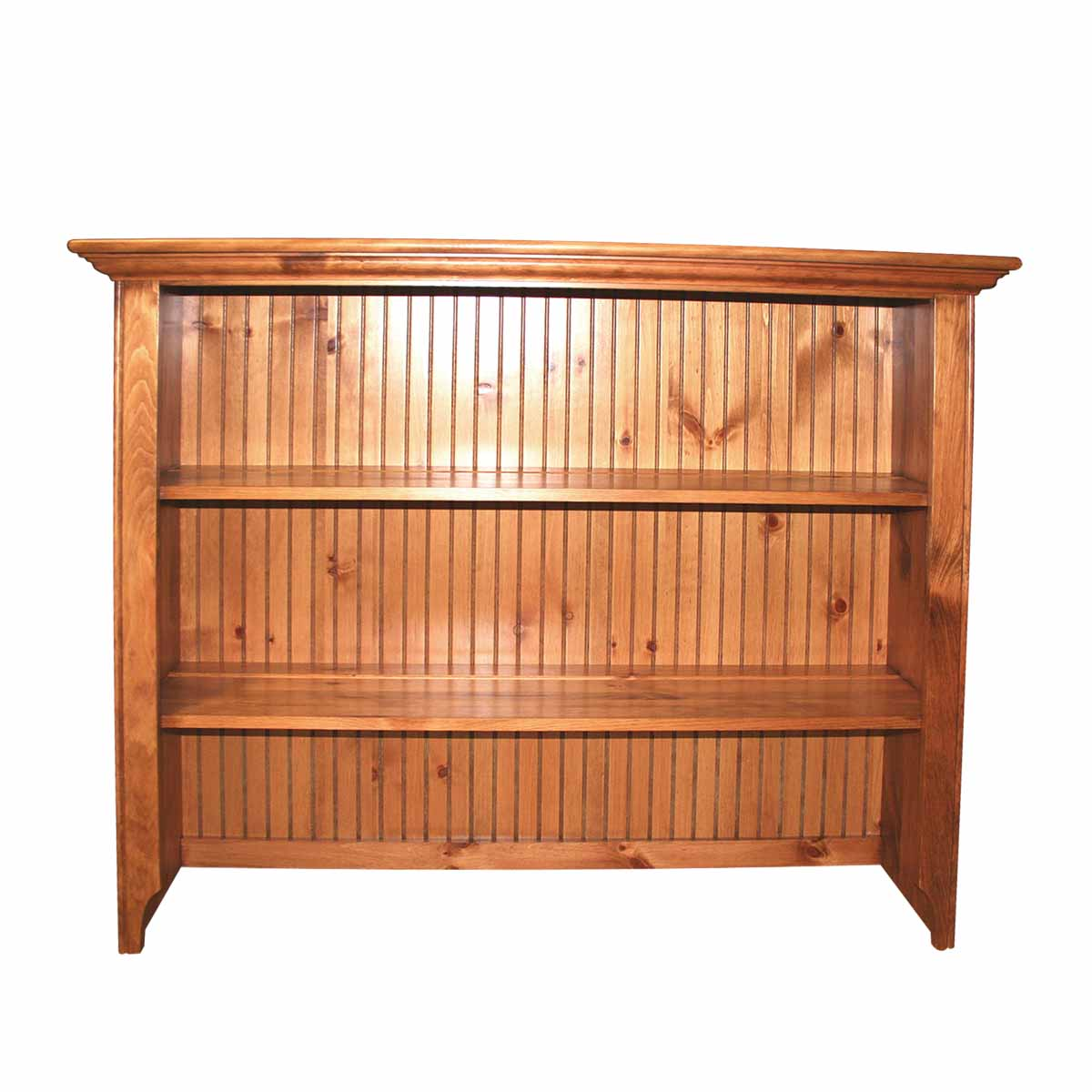 Hutches Honey Pine Open Top Hutch ONLY