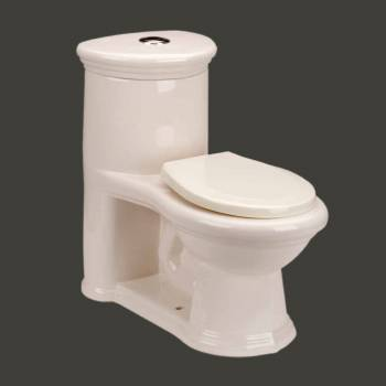 child size bone sweet heart loo toilet with gallon