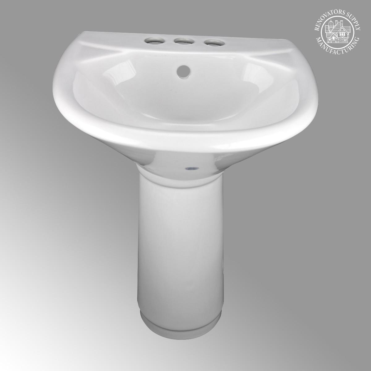 Children S Pedestal Sink Kids Wash Station White China