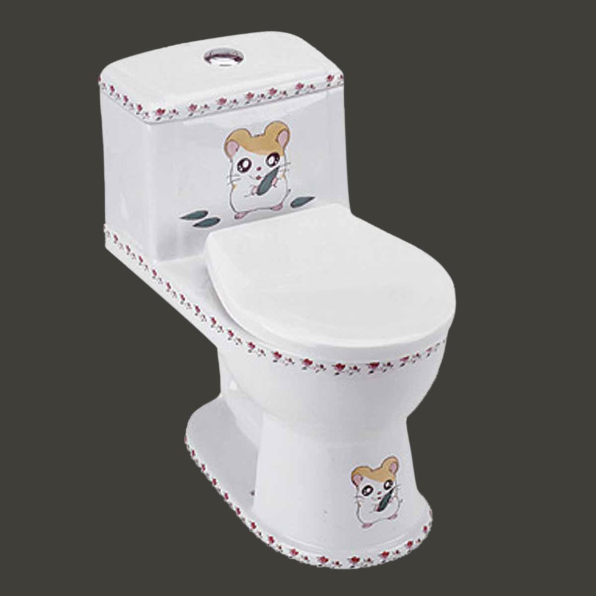 kids toilet children bathroom loo potty training mouse