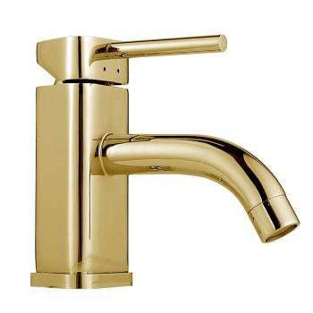 Amazing  Gold Bathroom Faucets Single Handle Single Hole Antique Gold Taps For