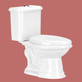 Dual Flush Toilet Laurier  White Elongated