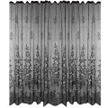 Black Lace Shower Curtain 72 x 72 inch