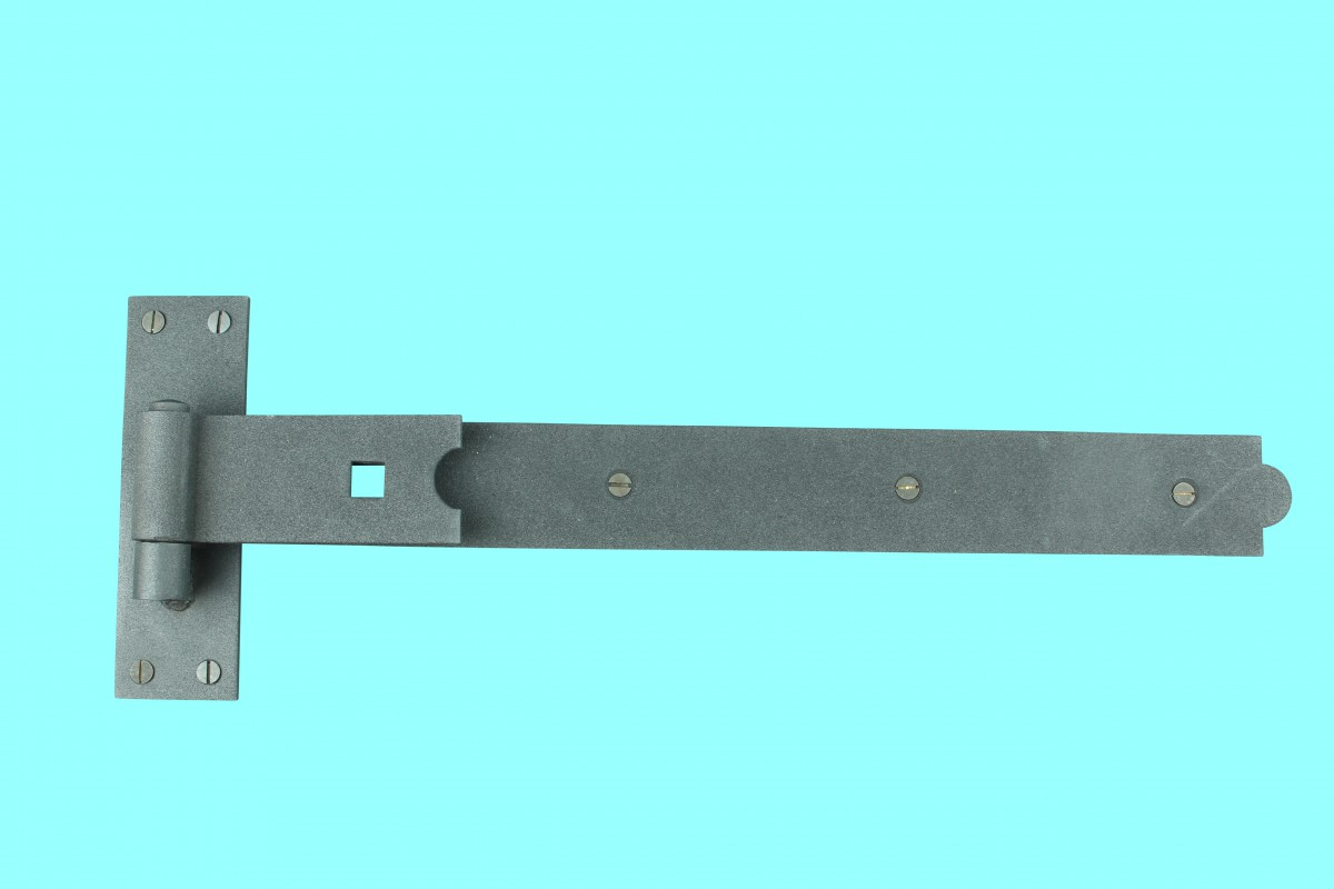 Christmas interior house decorations - Door Gate Strap Hinge Black Wrought Iron 19 Quot