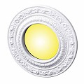 Recessed Lighting Trim Acanthus Scroll 4 in. ID x 8 in. OD