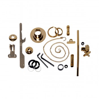 toilet part brass pvd parts for high tank toilets