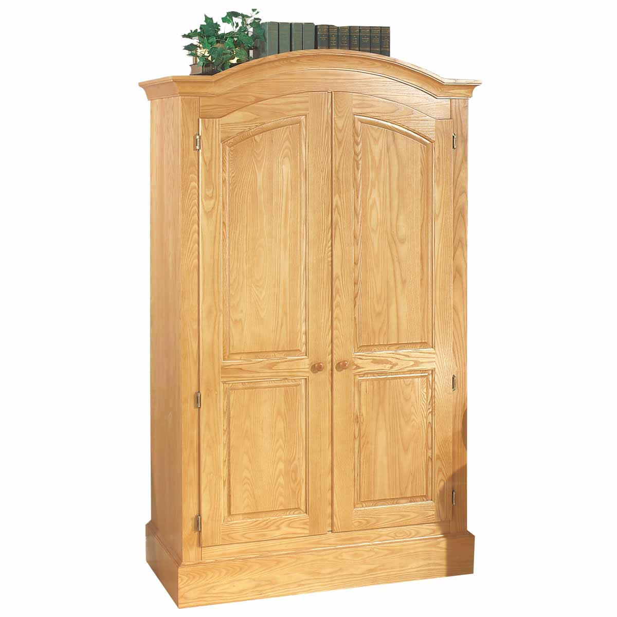 Armoires Mission Style Light Natural Ash Armoire 72 H x 43 W