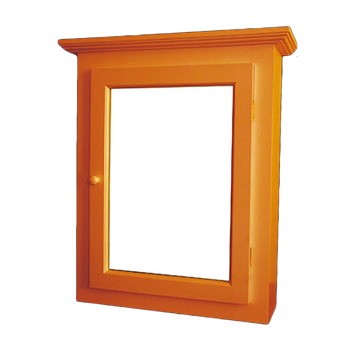 solid wood medicine cabinet mirror door flush surface mount. Black Bedroom Furniture Sets. Home Design Ideas