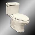 American Classic Toilet-Bone Elongated