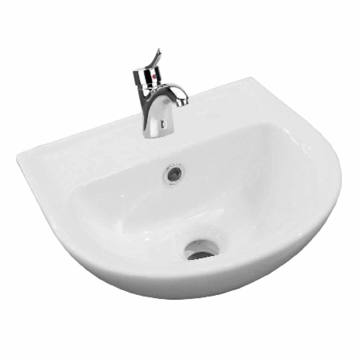 Bathroom Sink Small White China 14 Quot W Wall Mount