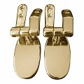 Toilet Seat Fittings Oval Toilet Seat Hinge Brass PVD