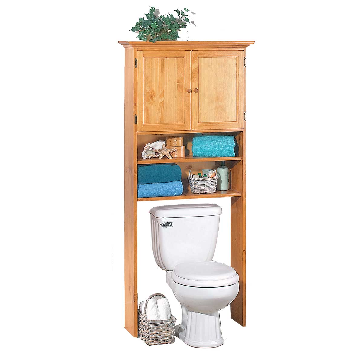over toilet shelf over toilet shelf storage bathroom heirloom pine