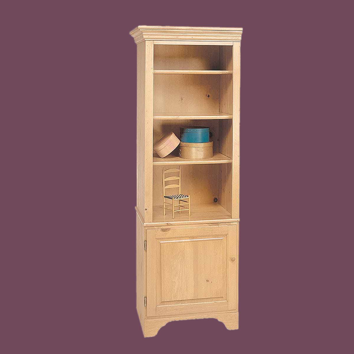 #AA6E21 Bookcase Unfinished Pine Shaker Kit 66.5 H with 1200x1200 px of Recommended Unfinished Book Shelves 12001200 save image @ avoidforclosure.info