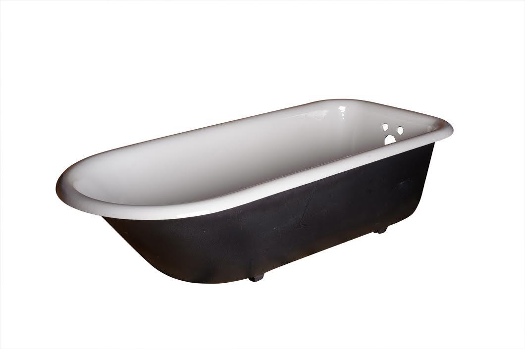 large clawfoot tub