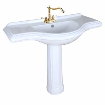Extra Large Bathroom Sinks : Large Pedestal Sink Bathroom Console 4