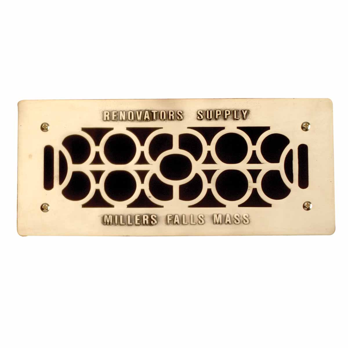 #A57426 Floor Wall Heat Air Grill Vent Grate Solid Brass 4.75 X 11  Most Effective 2855 Floor And Wall Registers pictures with 1200x1200 px on helpvideos.info - Air Conditioners, Air Coolers and more