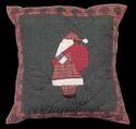 Santa Pillow 16 inch square