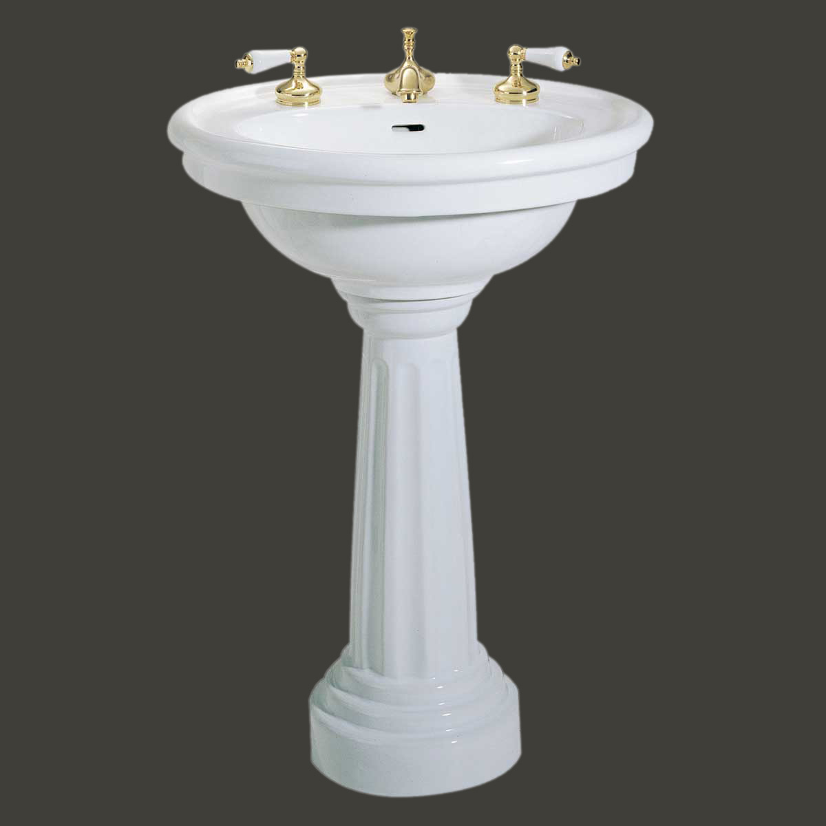 Home Plumbing Pedestal Sinks Medium Pedestal Sinks